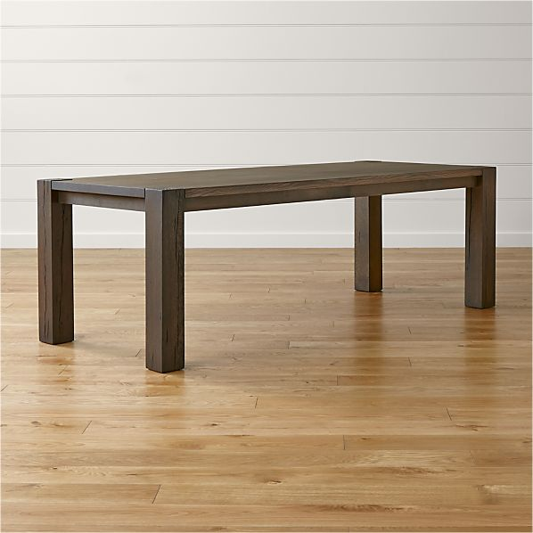 "Big Sur Charcoal 90.5"" Dining Table"