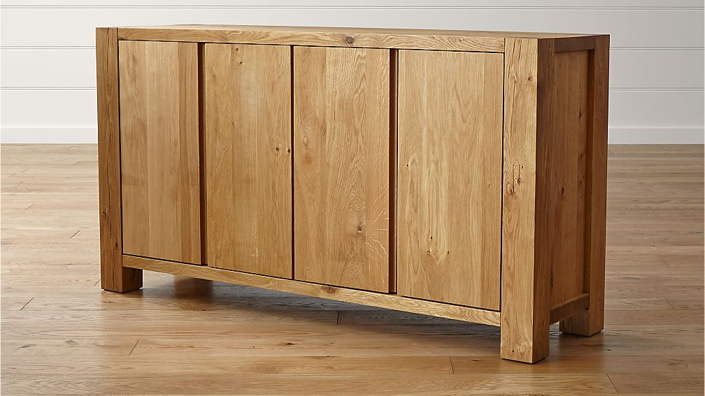 Big Sur Natural Sideboard In Buffets Sideboards Reviews