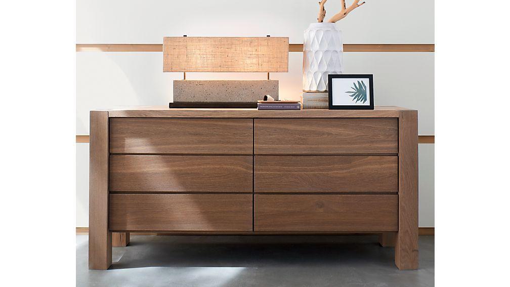 Big Sur Smoke 6-Drawer Dresser