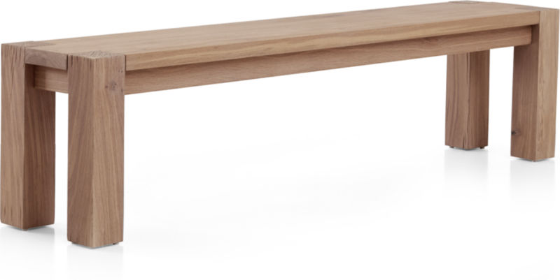 "Big Sur Smoke 71.5"" Bench"