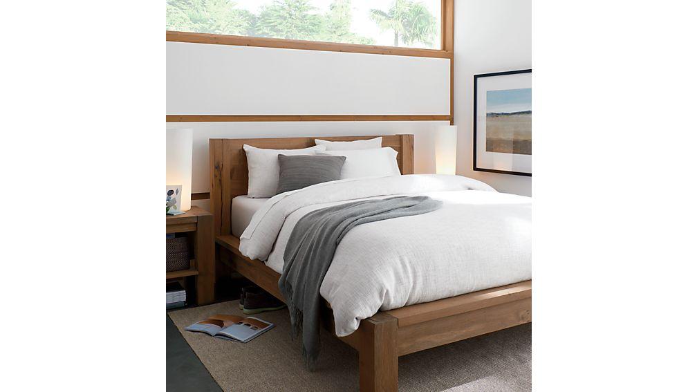 Big Sur Smoke Queen Bed