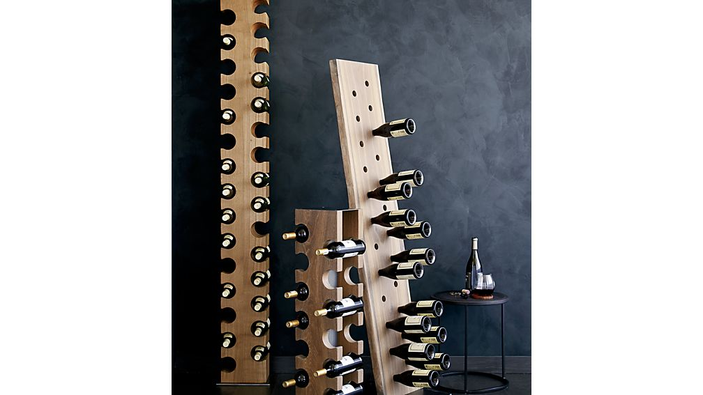 Big Sur Smoke 12-Bottle Standing Wine Rack