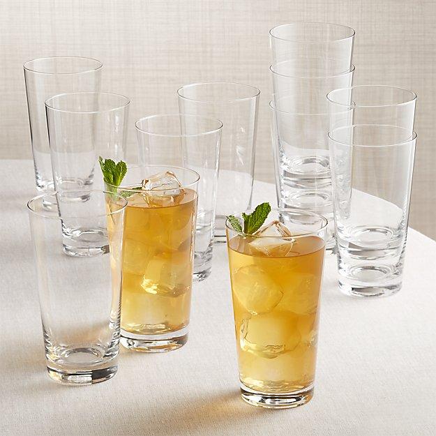 Biggs Highball Glasses Set of 12