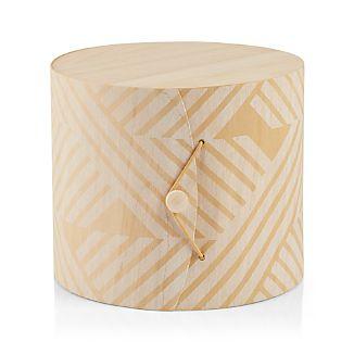 Striped Birch Gift Box