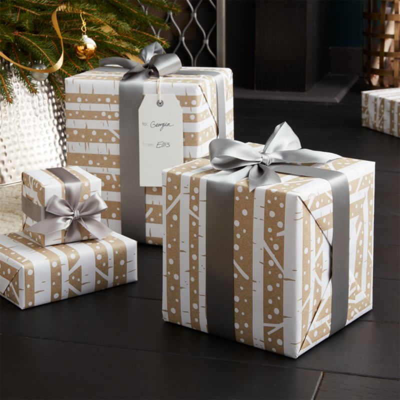 High Quality Birch Gift Wrap