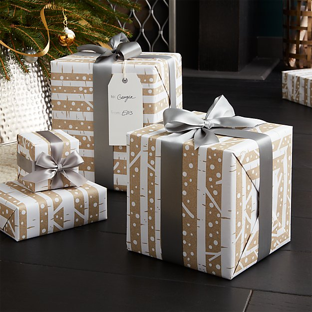 Birch Gift Wrap