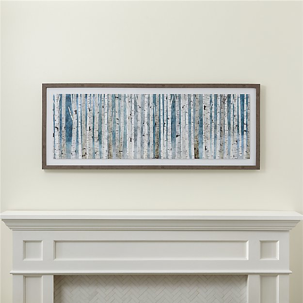 Birch Trees Print - Image 1 of 3