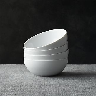 "Set of 4 Bistro Bowls 5.75"" 23oz."