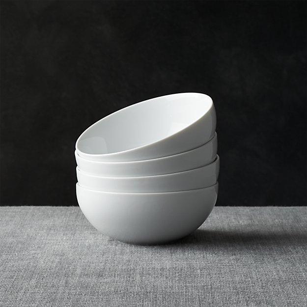 """Set of 4 Bistro Bowls 5.75"""" 18oz - Image 1 of 13"""