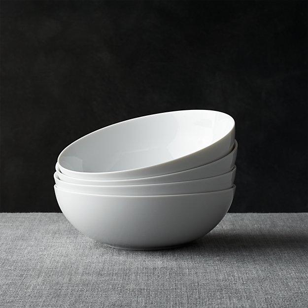 """Set of 4 Bistro 8"""" Bowls - Image 1 of 13"""