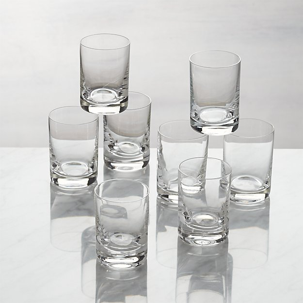 Bitty Bite Tall Glasses, Set of 8