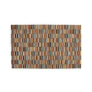 Bix Striped Wool 5'x8' Rug