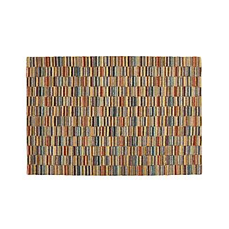 Bix Striped Wool 6'x9' Rug
