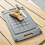 Epicurean ® Black BBQ Board with Trench
