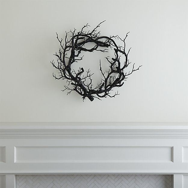 Black Branch Wreath