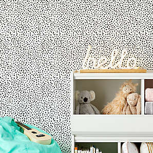 white and black speckle removable wallpaper