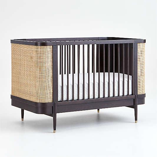 Black and Natural Thornhill Crib