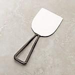 Black Nickel Wedge Cheese Knife