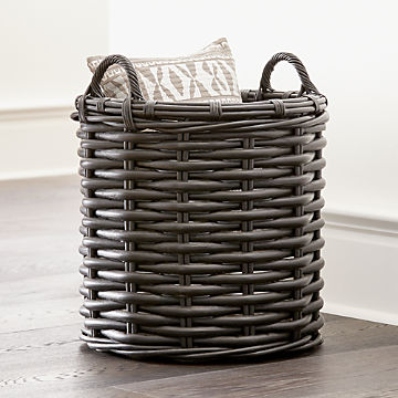 Baskets Wicker Wire Woven And Rattan