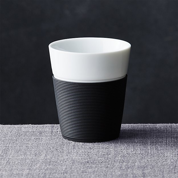 Bodum ® Black Silicone Medium Cup