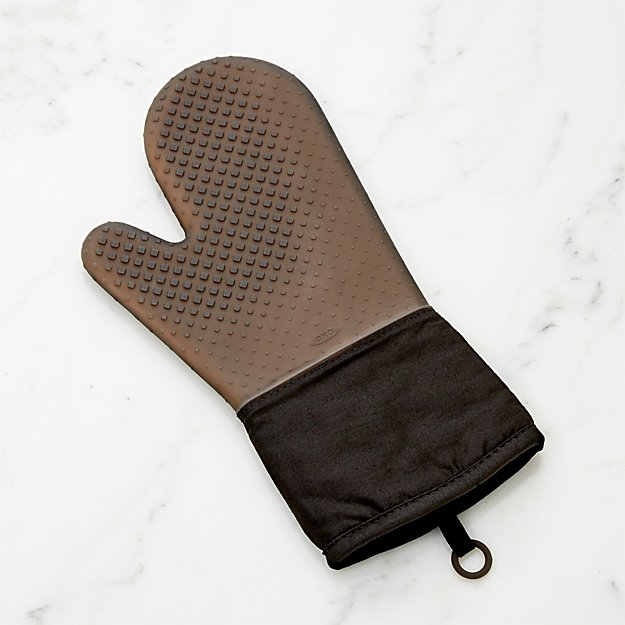 OXO ® Black Silicone Oven Mitt - Image 1 of 1