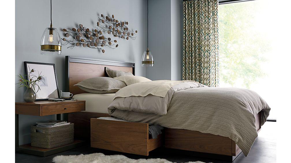 Blair Queen Storage Bed
