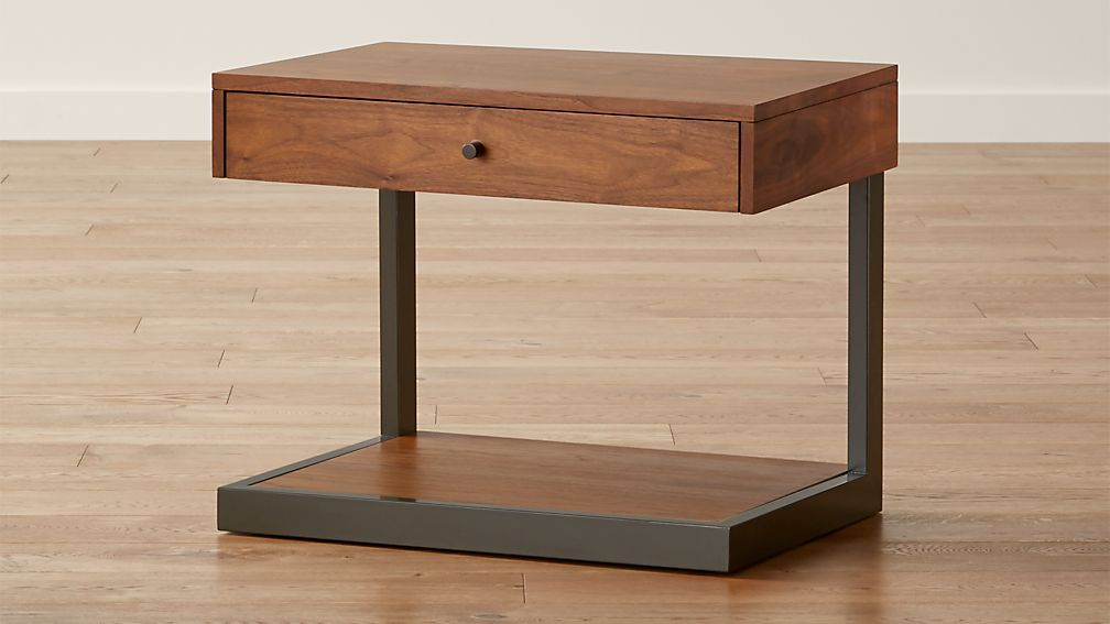 Exhibition Stand Night Sheet : Blair nightstand reviews crate and barrel
