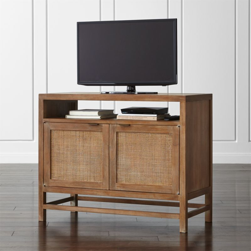 Blake Grey Wash 42 Quot Media Console Reviews Crate And Barrel