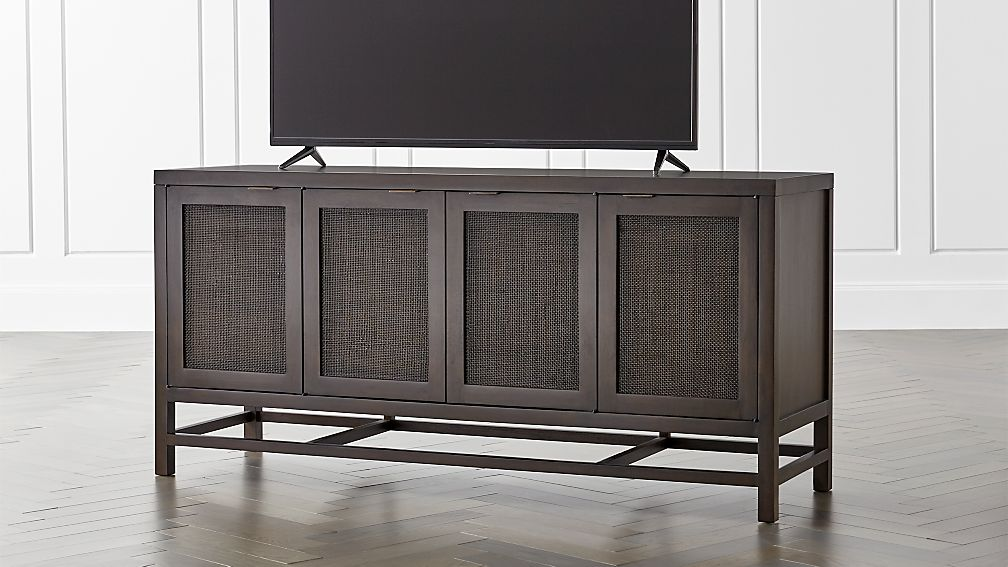 Blake Carbon 68 Quot Media Console Reviews Crate And Barrel