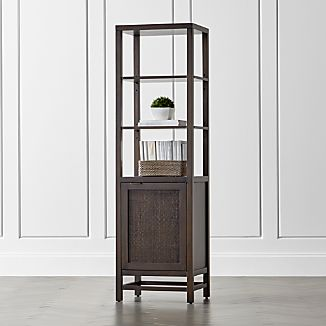 Blake Carbon Tall Bath Cabinet