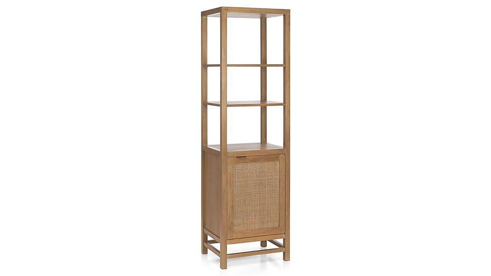 Blake Grey Wash Tall Cabinet