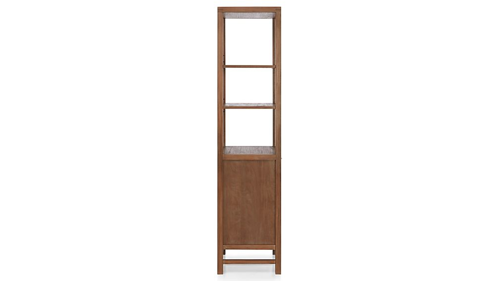 Blake Grey Wash Tall Cabinet