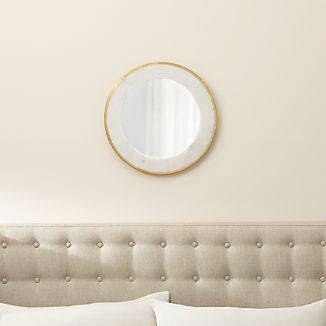 Blanche Round Wall Mirror
