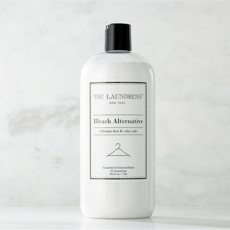 Take a new view of laundry day with our exclusive cleaning solutions from the experts at The Laundress®. Formulated just for Clean Slate™, this ultra-gentle, eco-friendly bleach alternative is subtly infused with the scent of lavender. Designed for most washable fabrics, this alternative to harsh bleach naturally softens water, removes stains, whitens, brightens, deodorizes and disinfects. The plant-based formula is 100% biodegradable, non-toxic, non-abrasive, and chlorine- and allergen-free with no artificial colors or dyes, making it a kind choice for both the environment and sensitive skin. Pre-soaking is recommended for heavier soil and stains.<br /><br />The Laundress® was dreamt up by two graduates from Cornell University's Fiber Science, Textile and Apparel Management and Design program. Frustrated with the financial and environmental cost of dry cleaning, the pair researched and developed eco-conscious formulas designed to properly care for every item in your closet.<br /><br /><NEWTAG/><ul><li>Formulated exclusively for Clean Slate™ by The Laundress®</li><li>Color-safe bleach alternative cleans most washable fabrics (pre-soak for best results; not intended for use with silk or wool)</li><li>Plant-based formula is 100% biodegradable, non-toxic, non-abrasive, chlorine-  and allergen-free with no artificial colors or dyes</li><li>Subtly scented with lavender</li><li>Plastic container is BPA-free</li><li>Made in USA</li></ul>