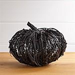Black Vine Large Pumpkin