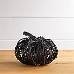 Black Vine Medium Pumpkin