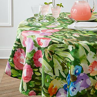 "Bloom 60"" Round Tablecloth"