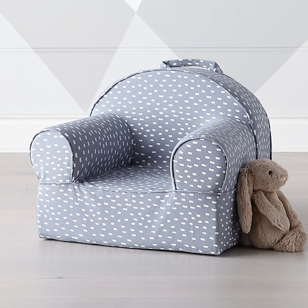 Small Blue Dash Nod Chair - Image 1 of 7
