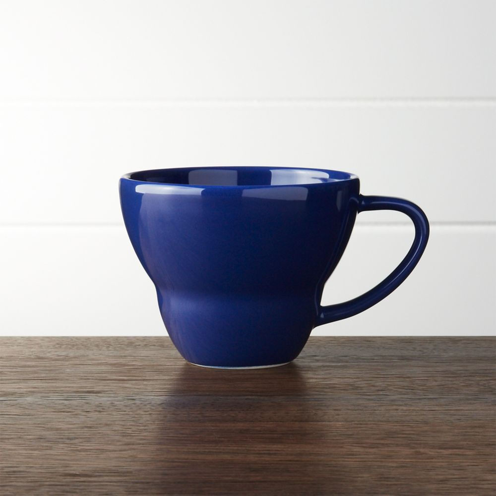 Blue Mug - Crate and Barrel