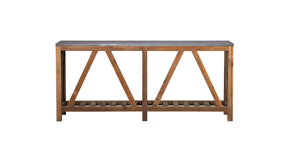 Bluestone Console Table
