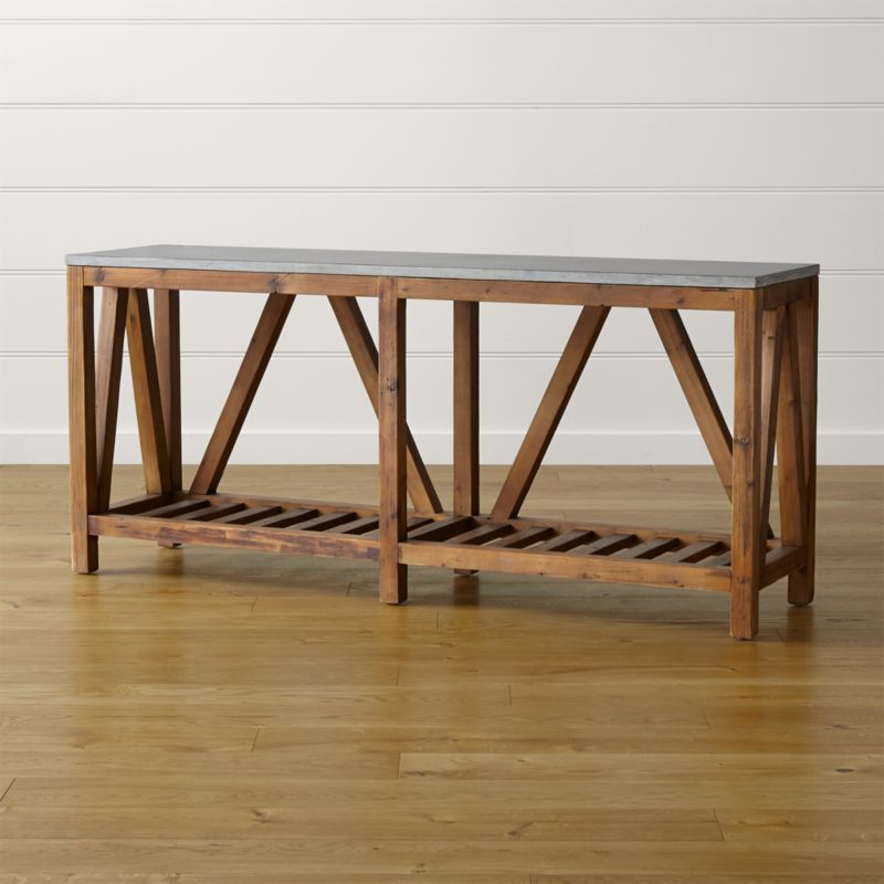 Bluestone Console Table Reviews Crate and Barrel