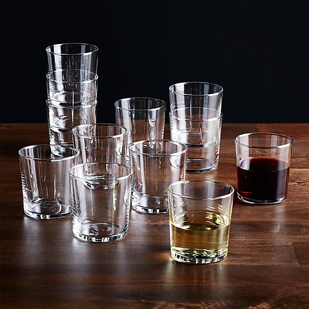 Bodega 11 Oz Glasses, Set of 12