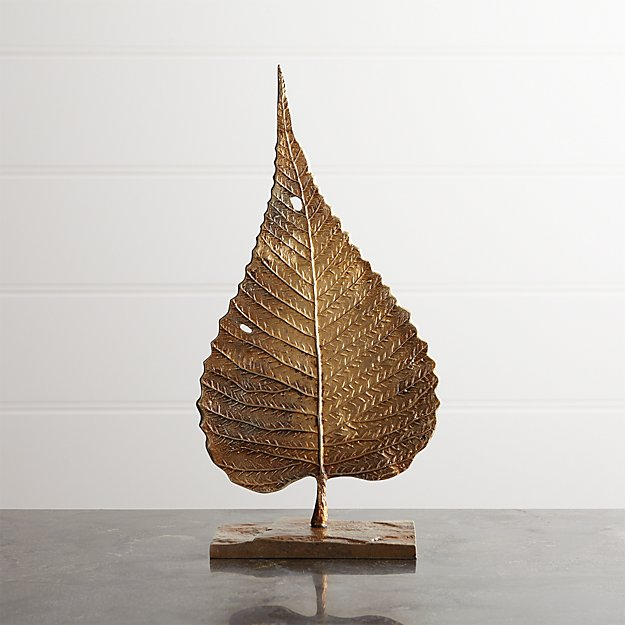 Bodhi Leaf On Stand - Image 1 of 9