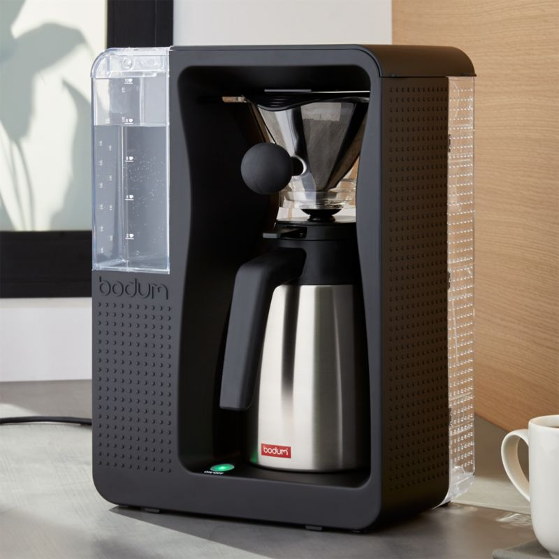 Bodum Automatic Pour-Over Coffeemaker with Thermal Carafe Crate and Barrel