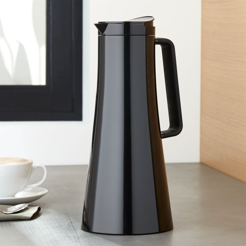 bodum bistro thermal coffee carafe reviews crate and barrel. Black Bedroom Furniture Sets. Home Design Ideas