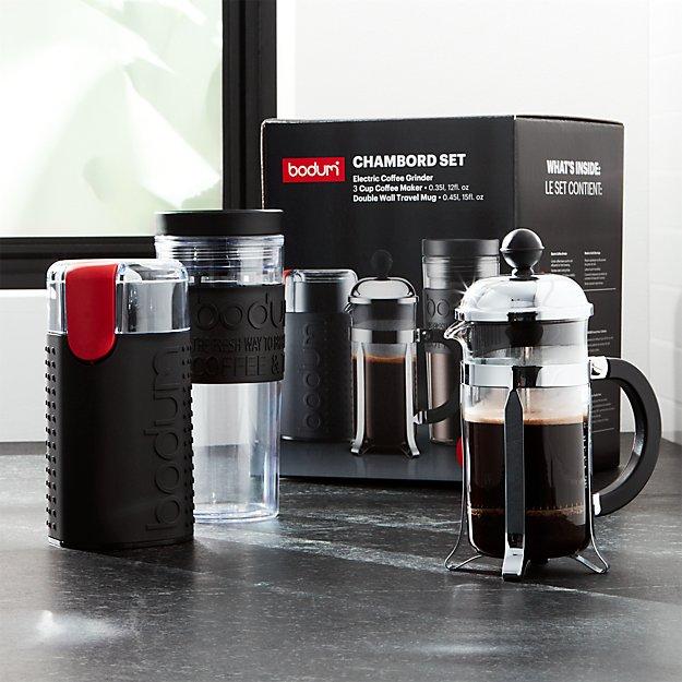 Bodum ® Chambord 3-Piece Coffee Set