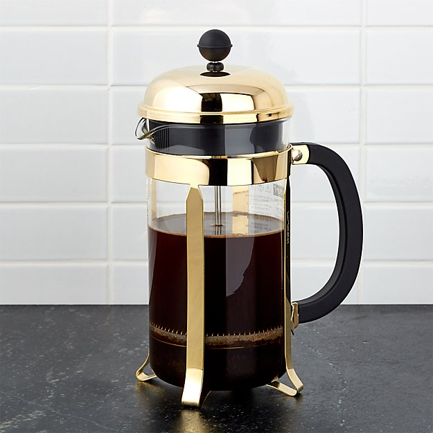 Bodum ® Chambord Gold 34-Ounce French Press - Image 1 of 6