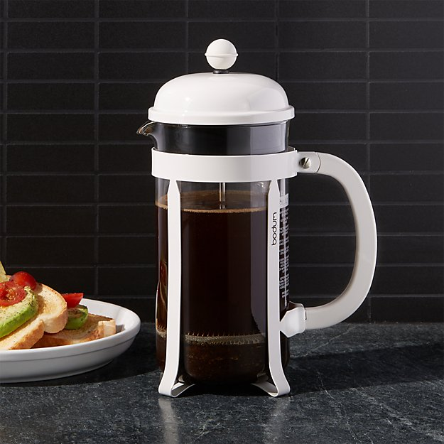 Bodum ® Chambord White 34-Oz.  French Press Coffee Maker - Image 1 of 2