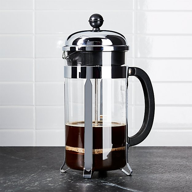 bodum chambord 34 ounce french press reviews crate and barrel. Black Bedroom Furniture Sets. Home Design Ideas