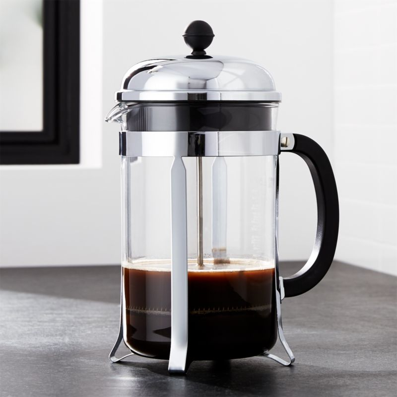 bodum chambord 51 ounce french press reviews crate and barrel. Black Bedroom Furniture Sets. Home Design Ideas